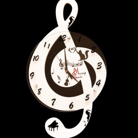 ceas alb cheia sol