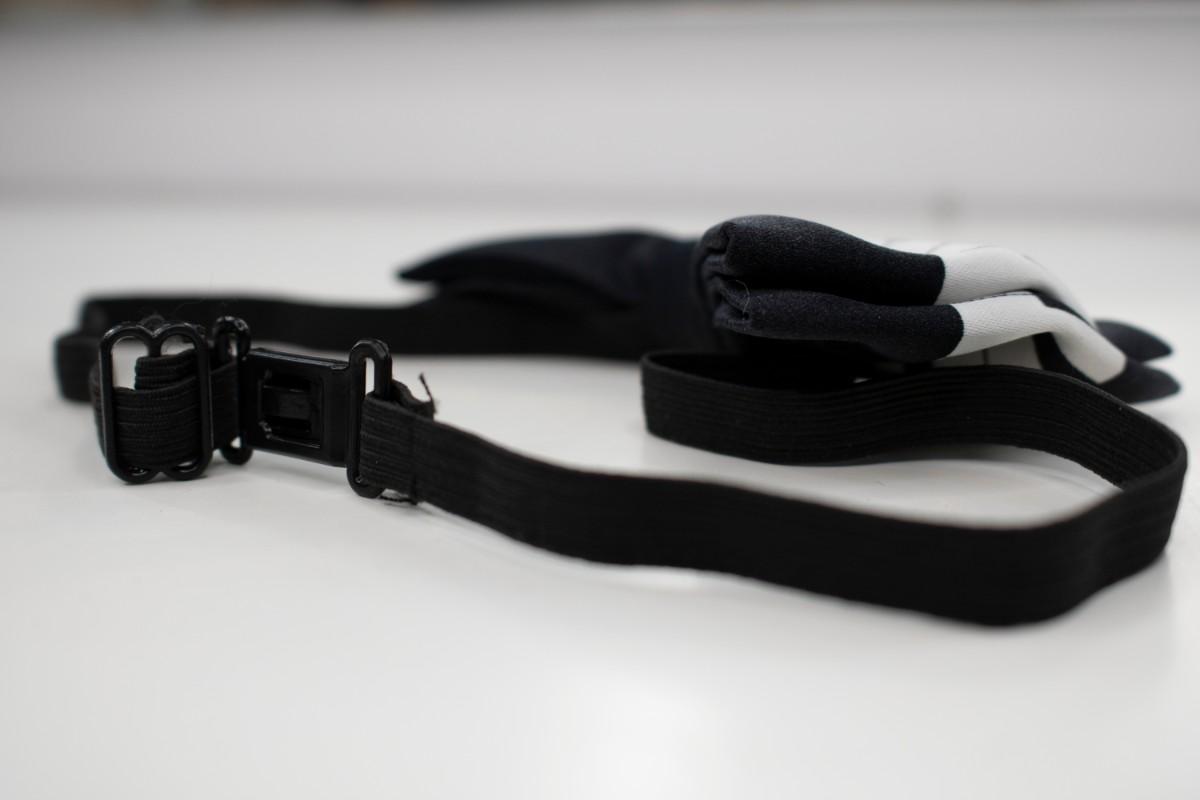 Papion negru cu claviatura