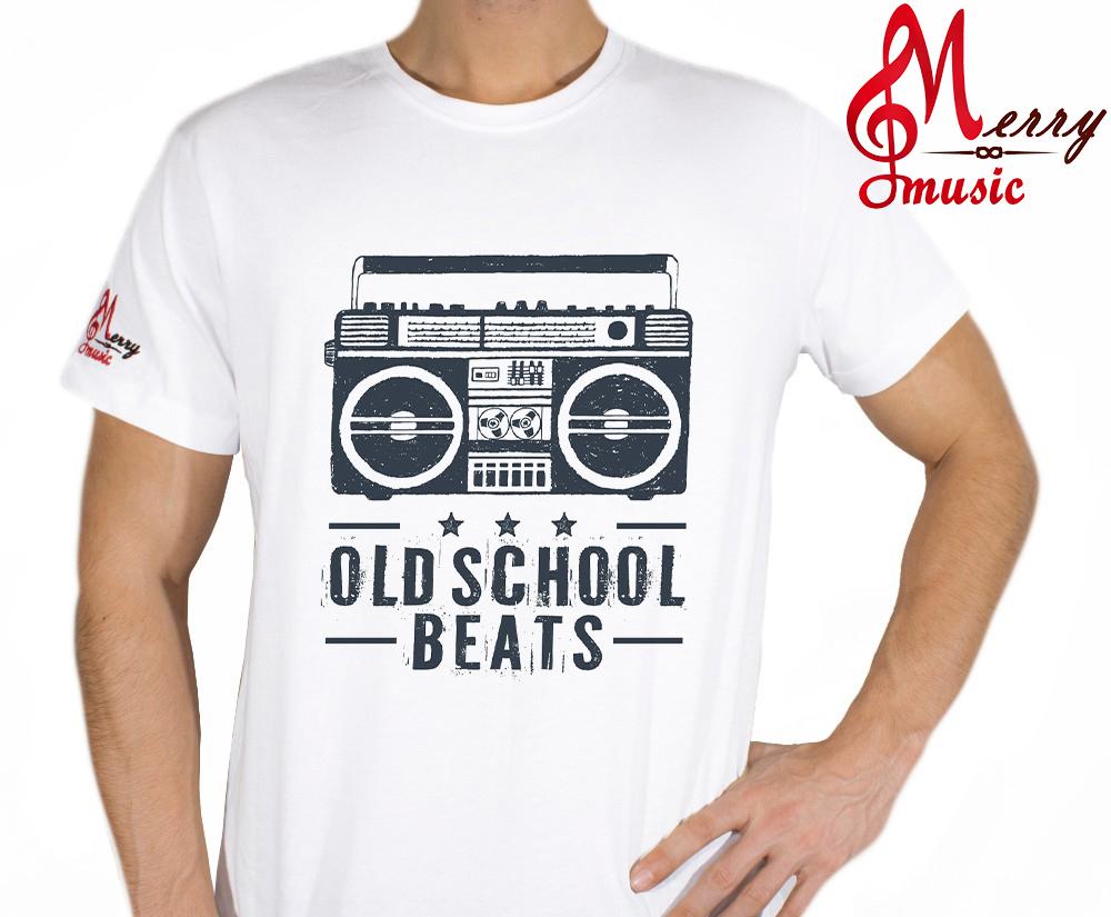 Tricou Old School Beats